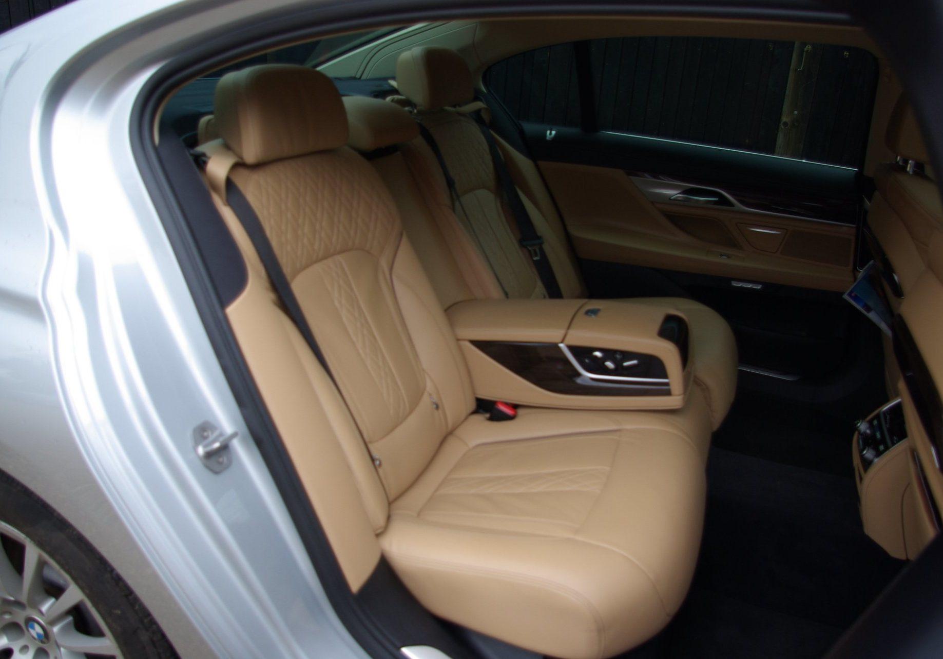 Chauffeur Driven Cars Interior