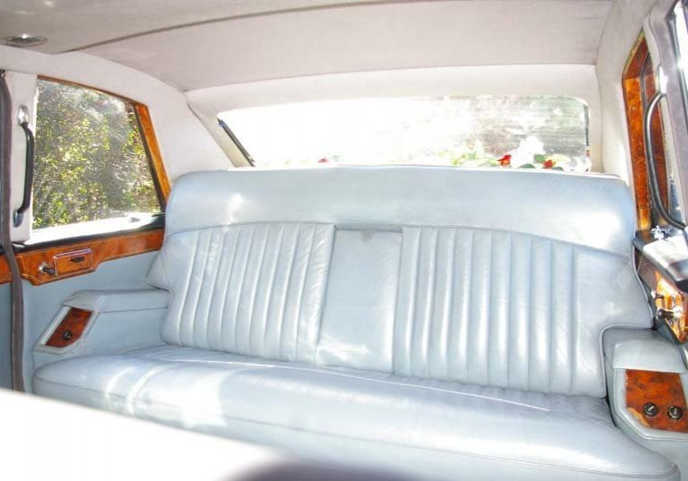 Wedding Car Interior