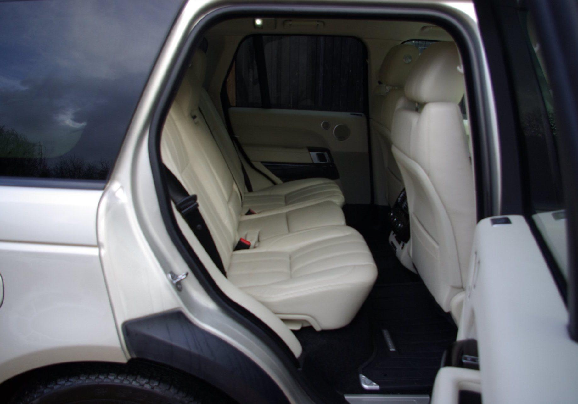 Wedding Car Back Seat
