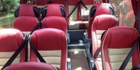Hire Car Interior
